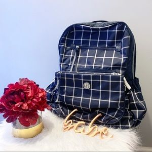 ✨Rare✨Lululemon Back to Class Check backpack